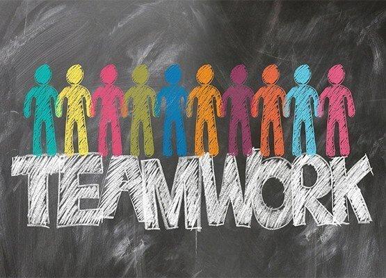Bild zum Thema Teamwork