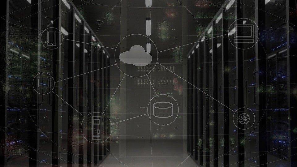 Grafik zur Dienstleistung Server Wartung.