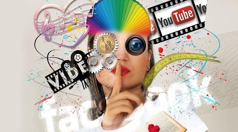 Social Media Grafik für Infotext.