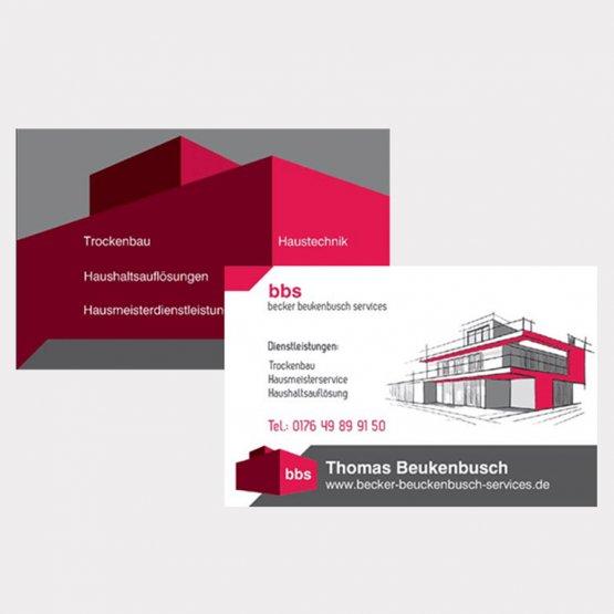 Abgebildet ist ein Screenshot der Referenz-Visitenkarte Becker Beukenbusch