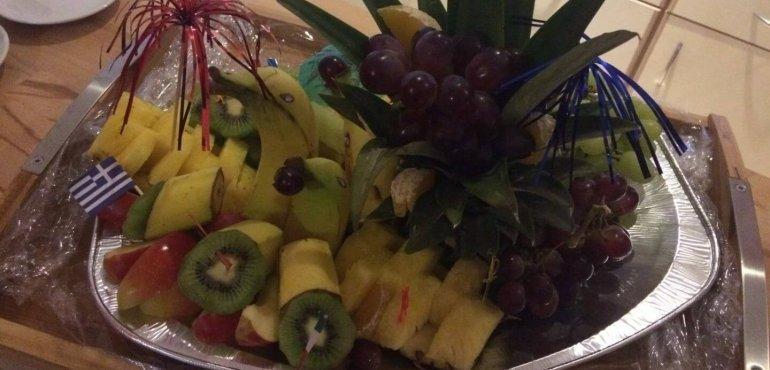 Leckeres frisches Obst für unsere Teammitglieder.