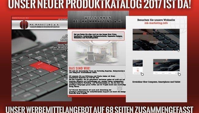 MK Marketing Produktkatalog 2017.