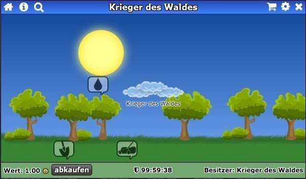 Abbildung der Traumwelt von Krieger des Waldes.