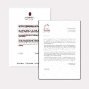 Abgebildet ist eines unserer Werbemittel in Form von Briefpapier