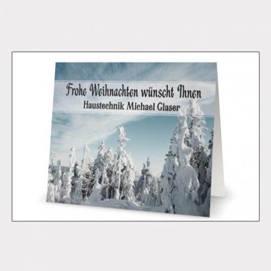 Abgebildet ist ein Screenshot der Referenz-Weihnachtskarte Michael Glaser