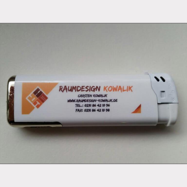 Abgebildet ist ein Screenshot des Referenz-Feuerzeugs Raumdesign Kowalik