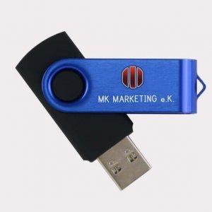 Abgebildet ist eines unserer Werbemittel in Form von USB-Sticks