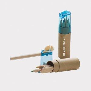 Abgebildet ist eines unserer Werbemittel in Form von Buntstiften