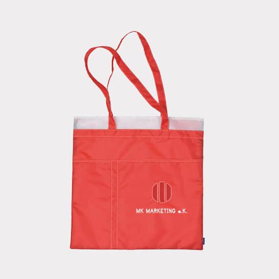 Abgebildet ist eines unserer Werbemittel in Form von Einkaufstaschen