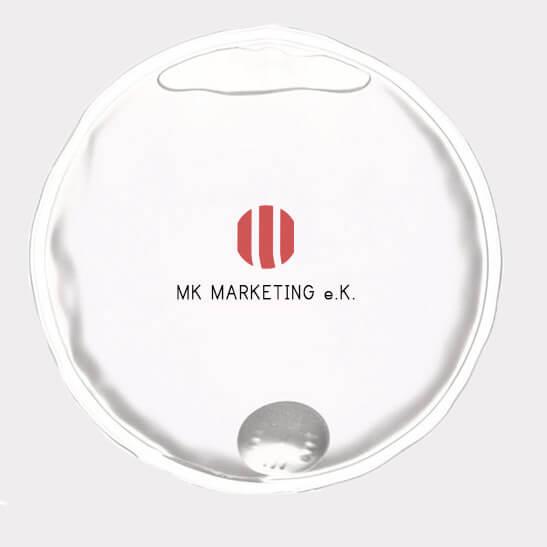 Abgebildet ist eines unserer Werbemittel in Form eines Handwärmers