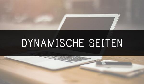 Enzyklopädie Dynamische Seiten