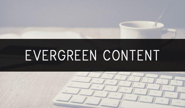 Enzyklopädie Evergreen Content