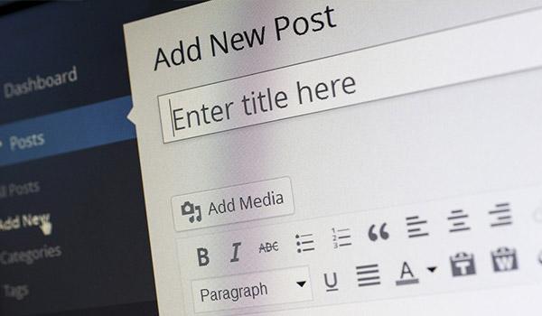Blog Beitragsbild zum Thema Blogpflege