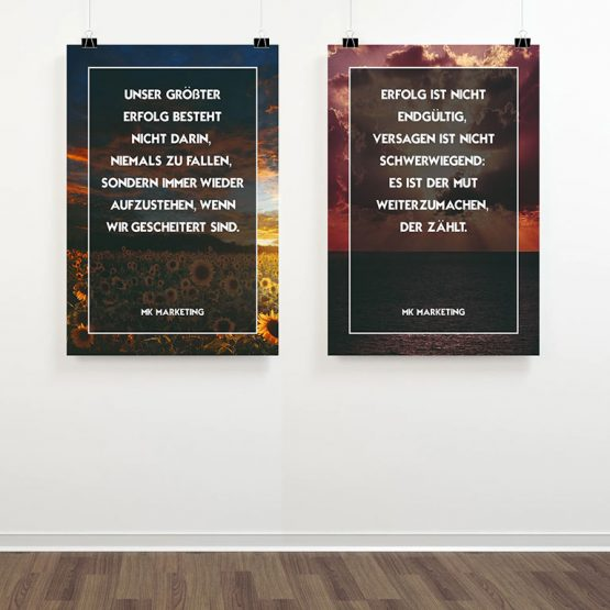 Abgebildet ist ein Screenshot der Referenz-Hohlkammerplatten im Büro von MK Marketing