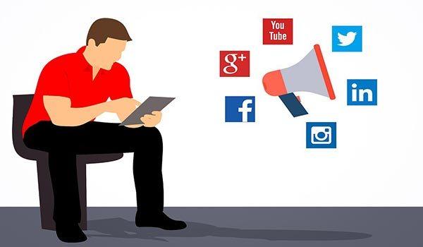 Blog Beitrag zum Thema Social Media