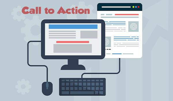 Blogbeitragsbild zum Thema Call to Action