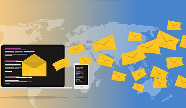 Blogbeitragsbild zum Thema ist E-Mail marketing Tod?