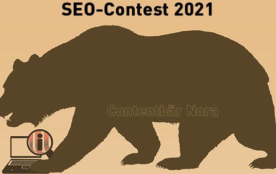 Contentbär – der SEO Contest 2021 hat begonnen
