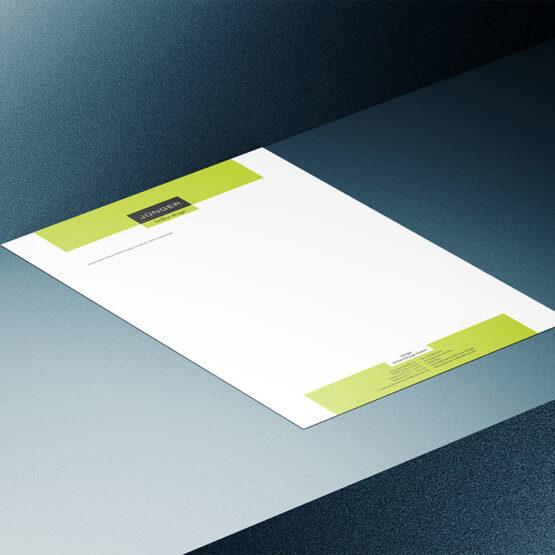 Brillenhändler Junger - Briefpapier