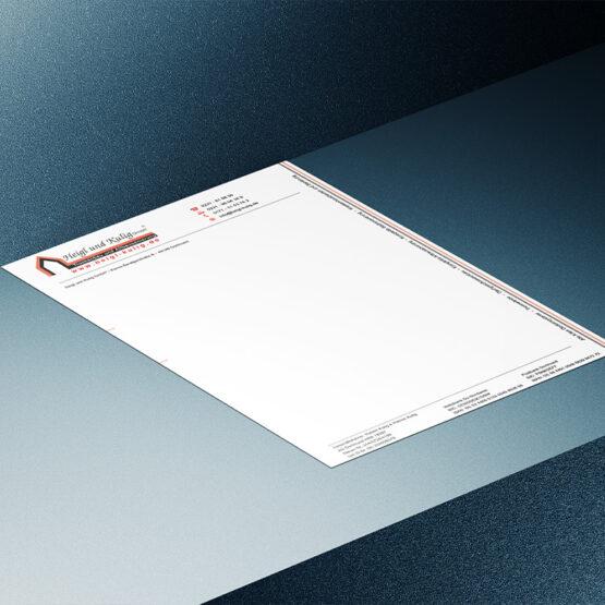 Briefpapier der Heigl & Kulig GmbH