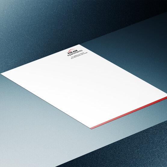 PM-AM Apartments Briefpapier