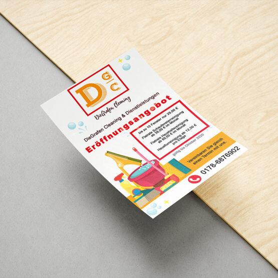 DieGrafen Cleaning - Flyer