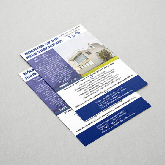 Hedo Immobilienkontor GmbH - Flyer