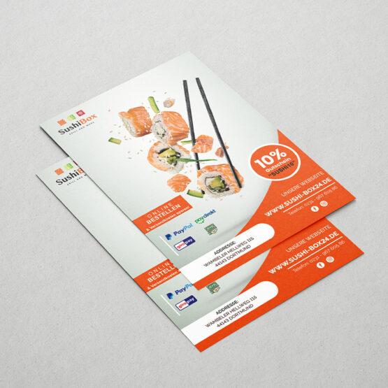 SushiBox Flyer
