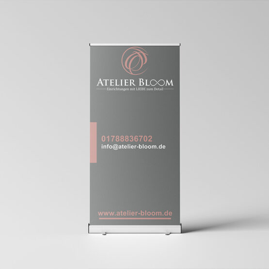Atelier Bloom RollUp Display
