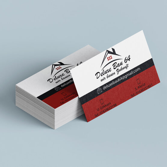 Visitenkarte Deluxe Bau 64